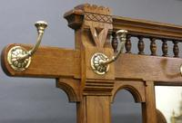 A Victorian Oak Hall Stand (2 of 6)