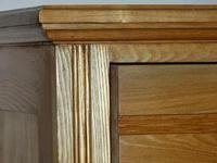 Edwardian Ash Chest of Drawers (4 of 7)