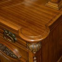 Late Victorian Mahogany Sideboard (8 of 19)