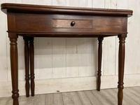Victorian Fold Over Tea Table (2 of 7)
