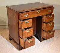 Mahogany Kneehole Desk 18th Century (3 of 5)