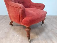Victorian walnut easy chair (3 of 7)