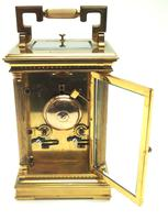 Fine French Repeat Carriage Clock with Foliate Carved Decoration By Charles Frodsham London (3 of 12)
