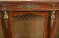 French Antique Bookcase Second Empire Bibliotheque Cabinet (8 of 20)