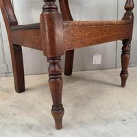 Antique Georgian Childs Mahogany Chair (7 of 10)