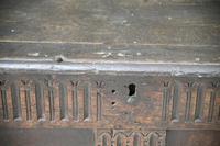 Antique Rustic Oak Coffer (7 of 13)
