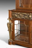 Mid 19th Century Satinwood Cabinet with Elaborate Giltwood Decoration (4 of 7)