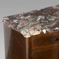 Pair of Kingwood & Breche Bedside Tables (4 of 5)
