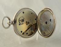 Gentelmans Victorian Silver Pocket Watch (2 of 4)