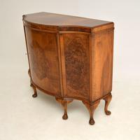 Antique Burr Walnut Cabinet / Sideboard (3 of 11)