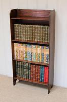 Oak Open Bookcase c.1920 (5 of 8)
