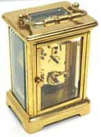Rare Antique French 8-day Carriage Clock Classic and Sought After Design (6 of 11)