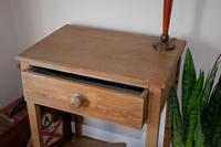 1900's Pine Side Table with Single Drawer (2 of 9)