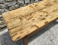Large French Sycamore & Elm Farmhouse Table (6 of 21)