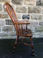 Antique Ash & Elm Windsor Armchair (7 of 10)