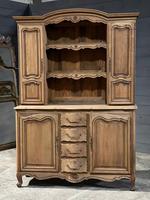 French Bleached Oak Farmhouse Kitchen Dresser (21 of 26)