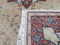 Vintage Ivory Ground Persian Medallion Rug (6 of 6)