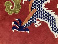 Vintage Tibetan Dragon Rug (3 of 8)