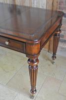 Elegant Gillows Style Mahogany Writing Table Desk (2 of 12)