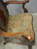 Pair of Queen Anne Style Walnut Armchairs (2 of 17)