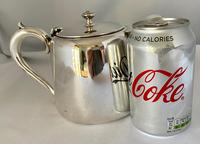Hotel Plate Teapot with Strainer (3 of 7)