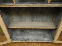 Antique Limed Oak Display Cabinet, Victorian rustic bohemian wall cabinet (5 of 16)
