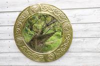 Arts & Crafts Movement Scottish / Glasgow School Circular Wall Mirror c.1900 (3 of 24)