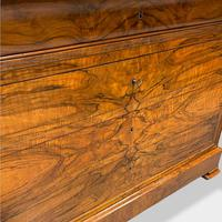 Figured Walnut & Marble Top Commode (7 of 16)