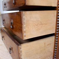 Oak Chest of Drawers Arts & Crafts (7 of 13)