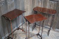 Nest of Three Bobbin Tables (2 of 8)
