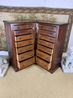 Pair of Mahogany Wellington Chests (6 of 7)