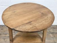 Antique Pine Tripod Side Table (m-2269) (6 of 8)
