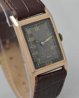 1943 9K Gold 'Tank' Wristwatch (2 of 5)