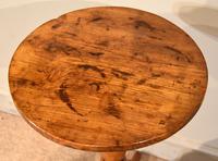 George III Elm Tripod Table (3 of 6)