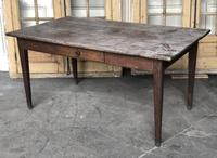 French Rustic Kitchen Dining Table