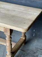French Bleached Oak Farmhouse Kitchen Table (17 of 25)