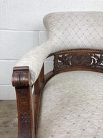 Pair of Victorian Mahogany Tub Chairs (16 of 17)