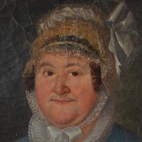 19th Century German School, Portrait of a Lady with a Bonnet (9 of 9)