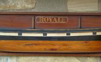 Antique Half Hull Iron Ship Royale (3 of 6)