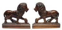 Pair of 19th Century Medici Lions
