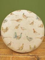 Voyage Maison Round Footstool, Game Bird Fabric (15 of 17)