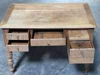 French Bleached Oak Writing Desk (21 of 21)
