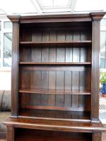 Waring & Gillow oak bookcase 1910 splits into 2 (3 of 10)