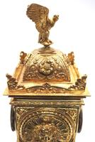 Good French Ormolu Cubed Classic 8 Day Striking Mantle Clock (8 of 11)