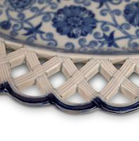 Blue and White Oval Plate (5 of 5)