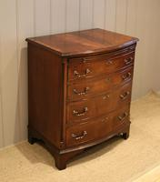 Mahogany Bow Front Chest of Drawers c.1920 (3 of 11)