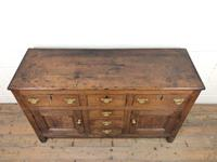 Antique 18th Century Oak Sideboard (2 of 7)
