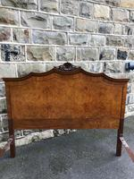 Antique Burr Walnut Double Bed (4 of 9)