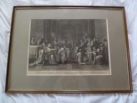 17th / 18th Century Old Master Etching After Nicolas Poussin