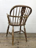 Pair of Antique Windsor Armchairs (7 of 9)
